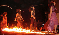 Fiery Runway at the Crucible