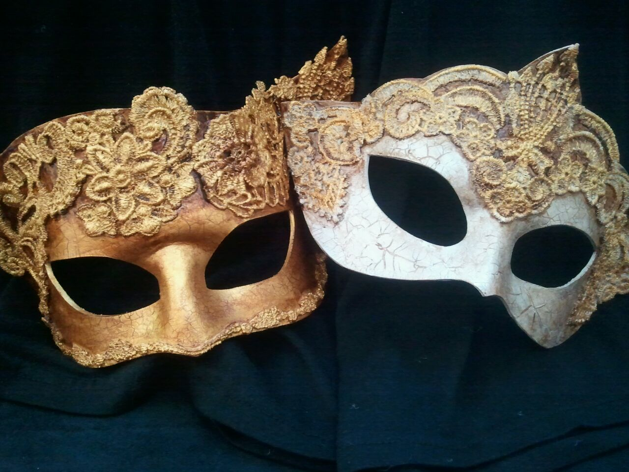 Lace Ball Masks