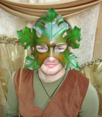Oak Leaf Mask