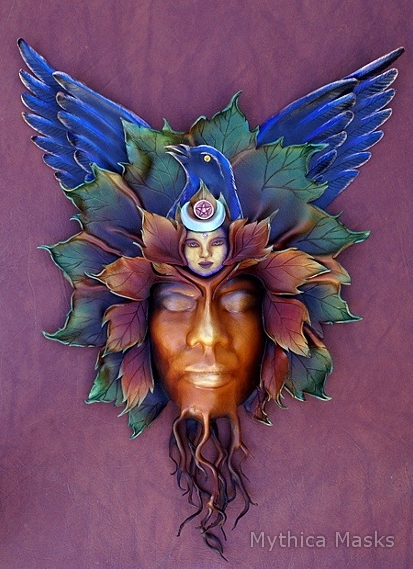 Raven Tree Spirit Mask